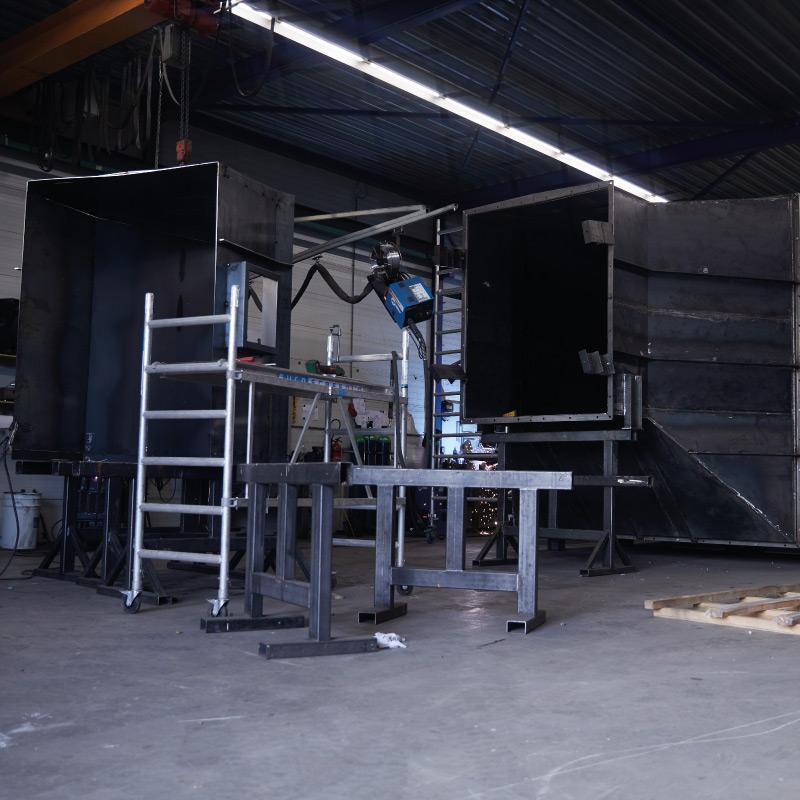 gasluchtkanaal-fabricage